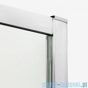 New Trendy New Maxima kabina asymetryczna 100x80x190cm grafit K-0295