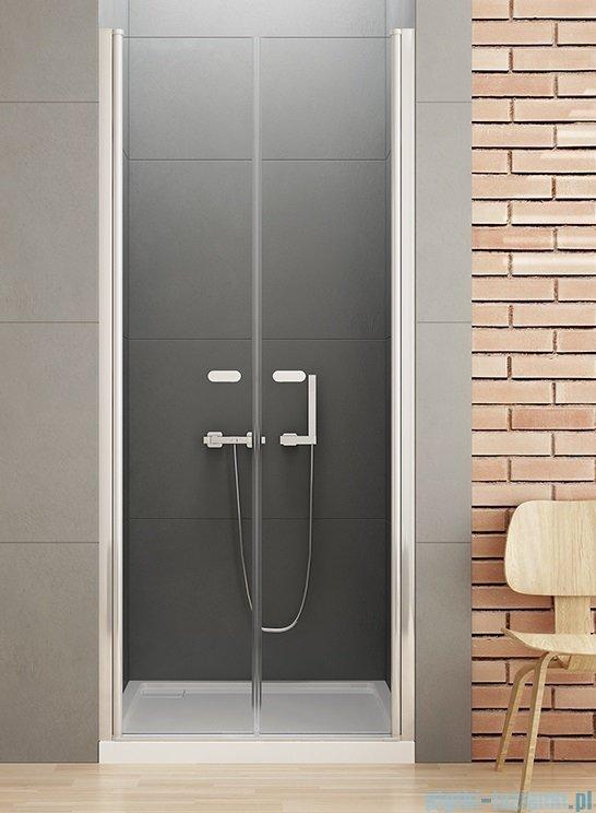 New Trendy New Soleo drzwi wnękowe dwuskrzydłowe 100x195 cm przejrzyste D-0126A