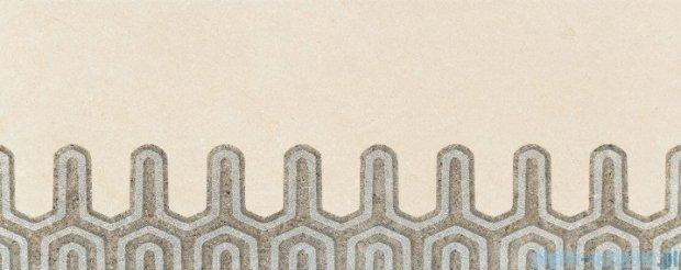 Tubądzin Lemon Stone grey C dekor ścienny 29,8x74,8