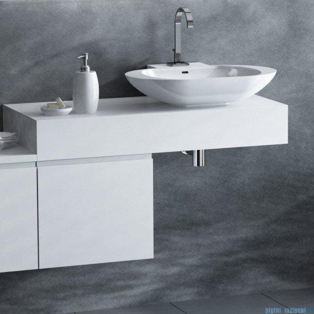 Antado Combi szafka lewa z blatem i umywalką Mia biały ALT-141/45-L-WS+ALT-B/1C-1000x450x150-WS+UCS-TC-60