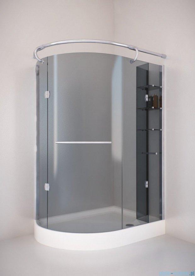 Sea Horse Sigma kabina natryskowa narożna Klio prawa 120x85 szkło: grafitowe,   BK261GP