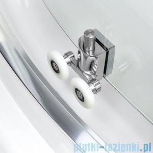 New Trendy Varia kabina prysznicowa trójścienna 90x100x90x190 cm szkło grafitowe K-0254