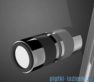 Radaway Eos KDJ kabina prysznicowa 80x80 lewa szkło przejrzyste + brodzik Delos C + syfon 37513-01-01NL