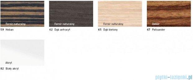 Duravit 2nd floor obudowa meblowa do wanny #700079 do niszy dąb bielony 2F 8938 65