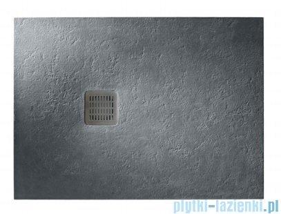 Roca Terran 120x80cm brodzik prostokątny konglomeratowy ciemnoszary AP014B032001200