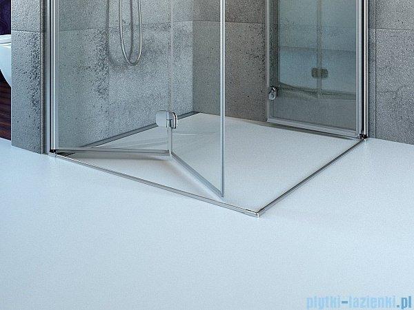 Radaway Eos KDJ-B kabina prysznicowa 80x80 lewa szkło intimato 37413-01-12NL