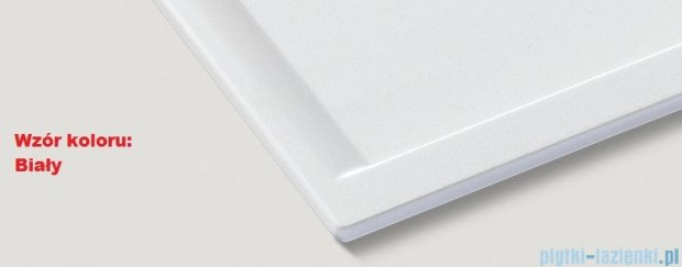 Blanco Nova 45 S Zlewozmywak Silgranit PuraDur kolor: biały  bez kor. aut. 510438