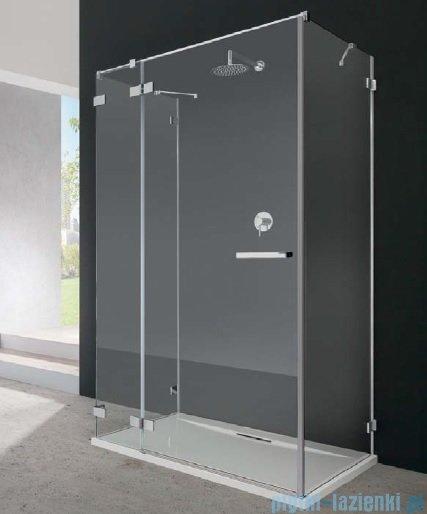 Radaway Euphoria KDJ+S Kabina przyścienna 100x90x100 lewa szkło przejrzyste 383020-01L/383052-01/383032-01