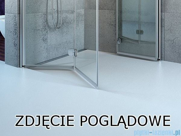 Radaway Essenza New Kdj kabina 120x80cm prawa szkło przejrzyste 385042-01-01R/384051-01-01