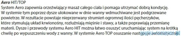 Riho Dorado Wanna asymetryczna 170x75 lewa z hydromasażem HIT Aero12 BA81H1
