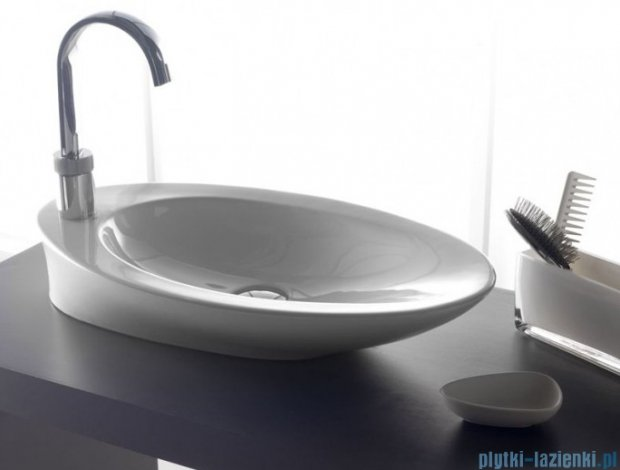 Bathco umywalka nablatowa Pure 62x37 cm 4020