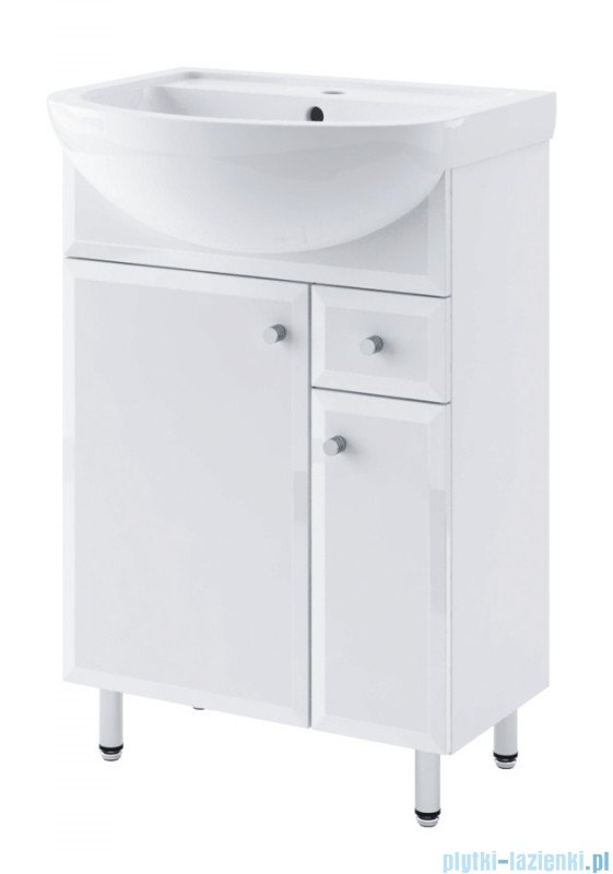 Aquaform Dallas szafka podumywalkowa 55cm biały 0401-530115