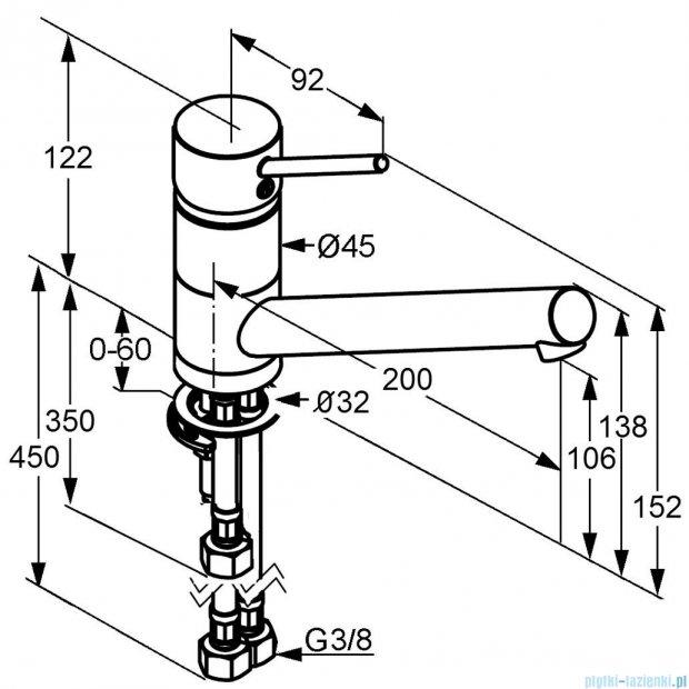 Kludi Scope Jednouchwytowa bateria kuchenna DN 10 stal szlachetna 339399675