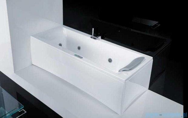 Novellini Elysium Wanna Y 180x80 z hydromasażem wodnym LEWA Y518080RS0-A0K