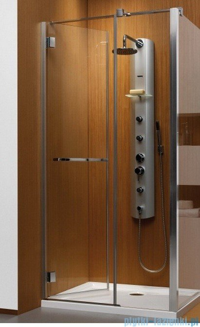 Radaway Carena Kdj Kabina prostokątna 100x90 lewa szkło brązowe + brodzik Argos + syfon 34444-01-08NL