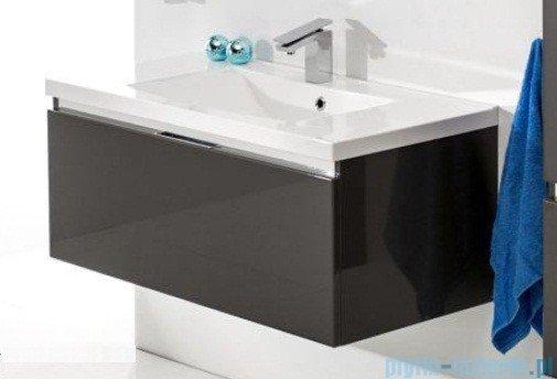 Antado Cantare szafka z umywalką 60x50x33 szary połysk FSM-342/6GT-56/56 + UNA-600
