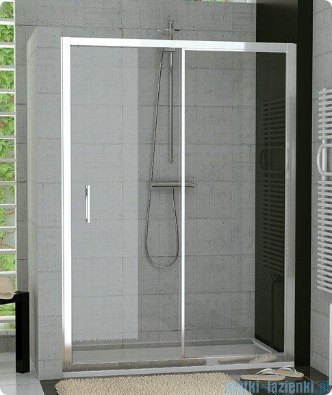 SanSwiss Top-Line TOPS2 Drzwi 2-częściowe rozsuwane 120cm profil biały TOPS212000407