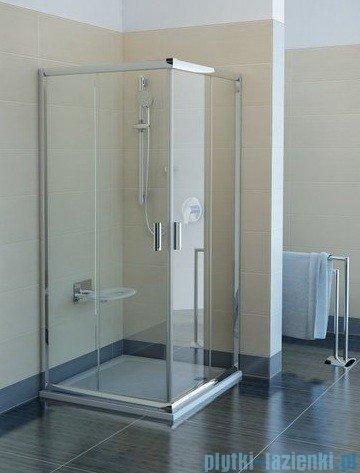 Ravak Kabina prysznicowa Blix BLRV2 kwadratowa 90x90 białe transparent Anticalc 1LV70100Z1
