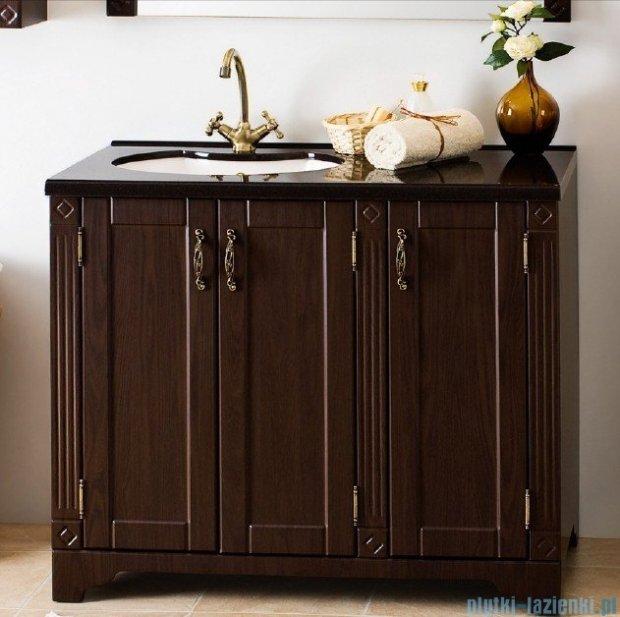 Antado Ritorno szafka wenge z umywalką i blatem 100x50x81cm VR-240-10-19 + UMB-1004-04