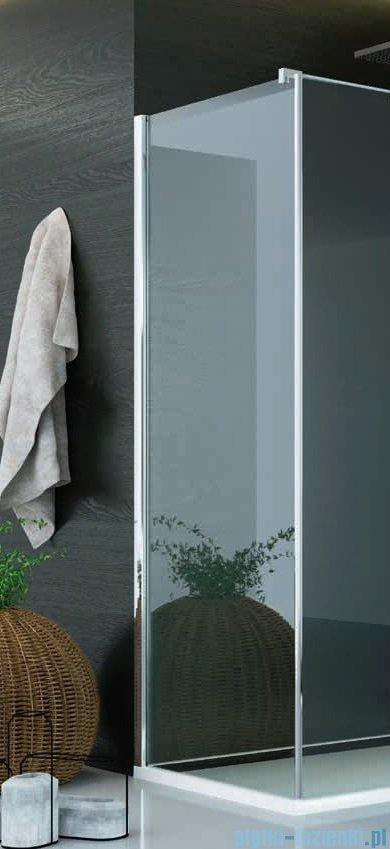SanSwiss Pur PUDT3P Ścianka boczna 75x200cm krople PUDT3P0751044