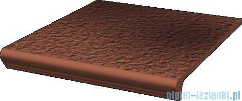 Paradyż Cloud rosa duro klinkier stopnica prosta z kapinosem 30x33