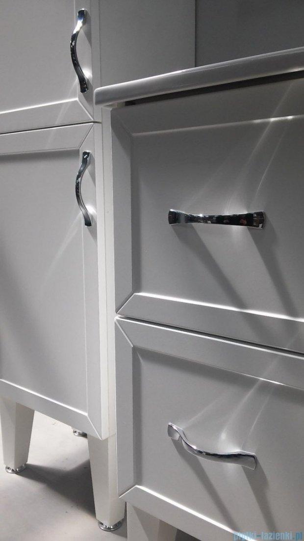 Antado Rustic szafka podumywalkowa 2 szuflady 80x38x62 biała RST-140/8GT-14