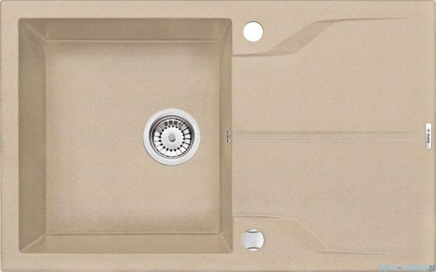 Deante Andante zlewozmywak 1-komorowy z ociekaczem 78x49 cm piaskowy ZQN 7113