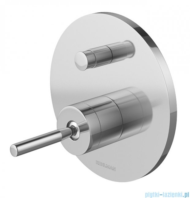 Kohlman Maxima zestaw prysznicowy chrom QW210MR35