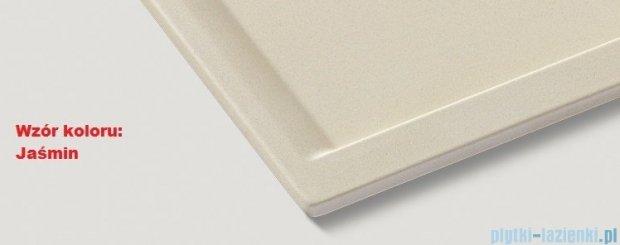 Blanco Zenar 45 S-F  Zlewozmywak Silgranit PuraDur komora lewa kolor: jaśmin z kor. aut. z jesionową deską do krojenia 519303