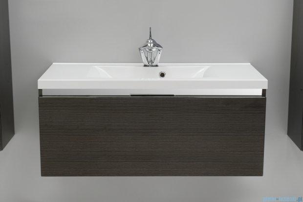 Antado Cantare szafka z umywalką 100x48x40  grafit (fino) FSM-342/10GT-46/46 + UMML-1000C