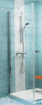 Ravak Ścianka prysznicowa stała SmartLine SMPS-80 Lewa chrom+transparent 9SL40A00Z1