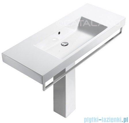 Catalano Zero Domino 125 umywalka 125x50 biała 1125DO00