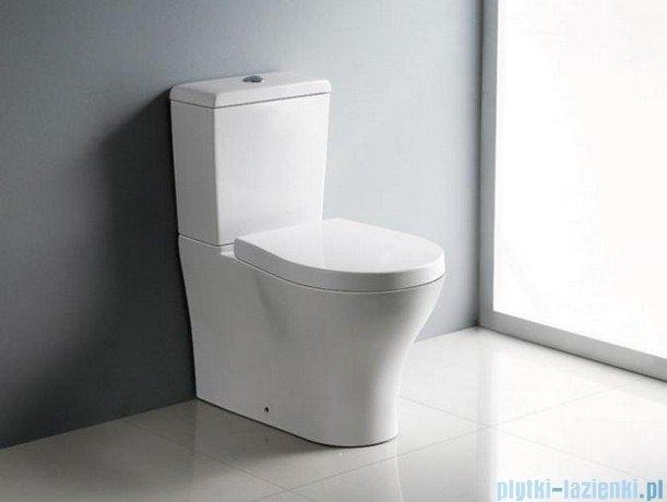 Bathco Formentera kompakt wc z deską wolnoopadającą 4505