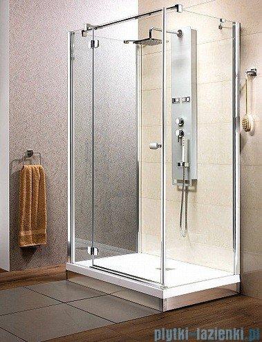 Radaway Kabina prysznicowa Fuenta KDJ+S 90x100x90 lewa szkło przejrzyste 381035-01L1 / 381035-01L2