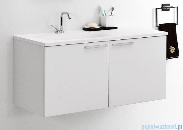 Antado Sycylia szafka z umywalką lewa 90x48x45 biały połysk KTS-140/2-WSL + UMMO-900-03L