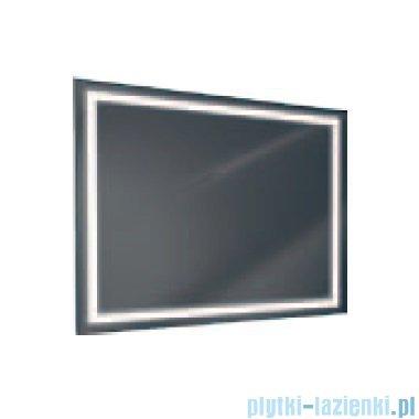 Antado lustro z ramka świetlna LED ciepłe 120x80cm L1-J4-LED3