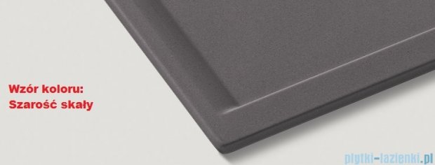 Blanco Zenar XL 6 S  Zlewozmywak Silgranit PuraDur komora prawa kolor: szarość skały z kor. aut. i szklaną deską do krojenia 519272