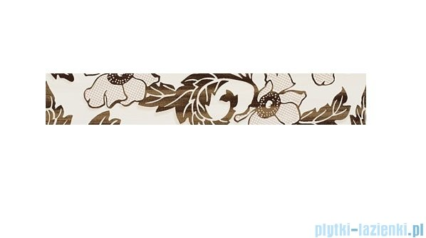 Domino Aceria krem listwa ścienna 7,1x44,8