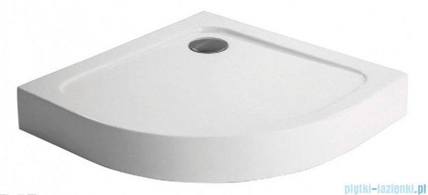 Polimat Standard 1 brodzik półokrągły kompaktowy 80x80x13 cm 00804