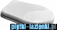 Kerasan Retro Zestaw WC kompakt wysoki górnopłuk, odpływ poziomy, chrom (1011,1080,7546,7547,109001)