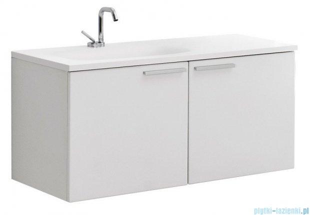 Antado Sycylia Szafka podumywalkowa z szufladą 90x48x45 lewa, biały połysk KTS-140/2-WSL