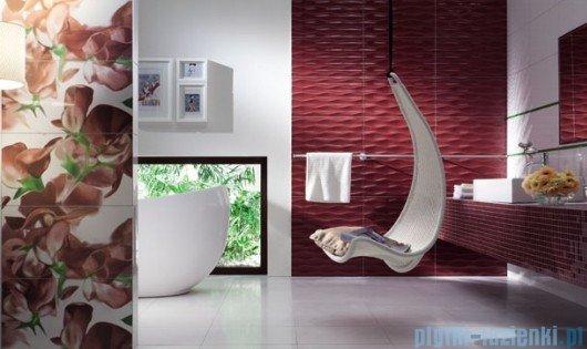 Mozaika ścienna prostokątna Tubądzin Colour Carmine 32,7x29,5