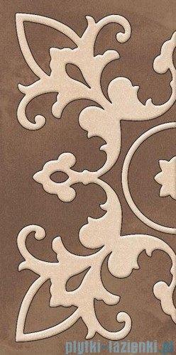 Paradyż Sabro brown inserto ścienne 29,5x59,5