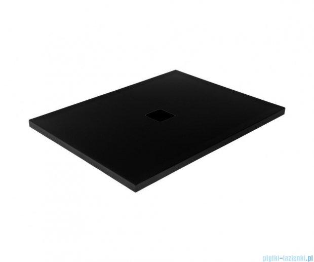 Besco Nox ultraslim black 110x90cm brodzik prostokątny czarny/czarny BMN110-90-CC