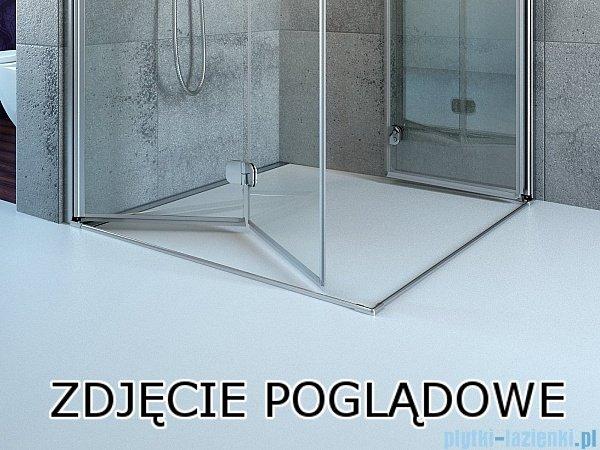 Radaway Arta Kdj I kabina 80x90cm lewa szkło przejrzyste 386081-03-01L/386021-03-01