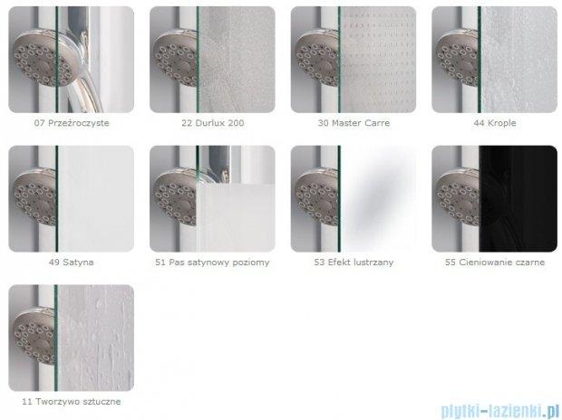 SanSwiss Top-Line TOE3 Wejście narożne 3-częściowe 80cm profil połysk Prawe TOE3D08005007