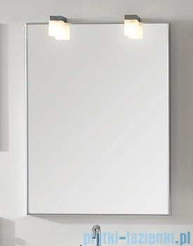 Antado lustro w aluminiowej ramie 70x50 cm AL-50x70