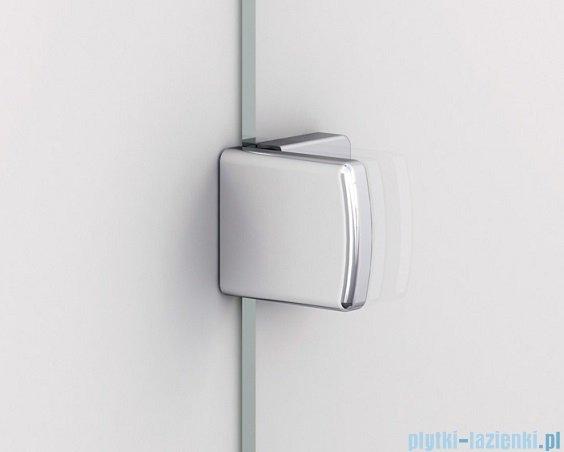 Sanswiss Melia ME13 Drzwi ze ścianką w linii z uchwytami prawe do 120cm przejrzyste ME13WDSM11007