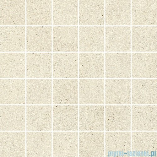 Paradyż Duroteq bianco poler mozaika 29,8x29,8