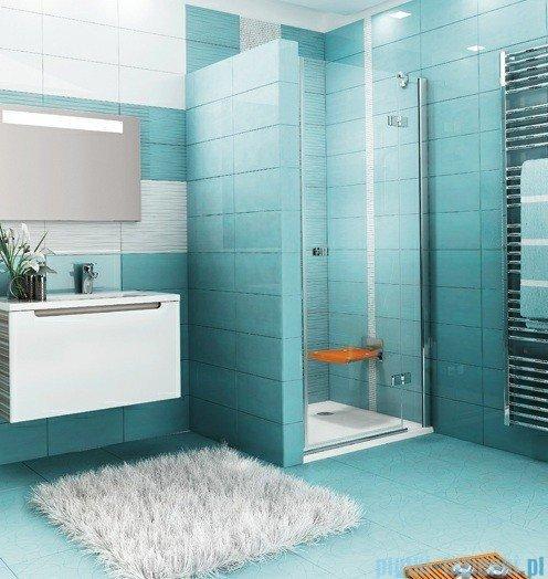 Ravak Drzwi prysznicowe SmartLine SMSD2-90 A prawe chrom+transparent 0SP7AA00Z1